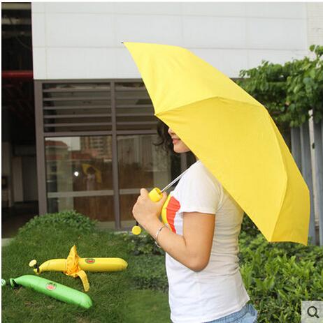 Manufacturers selling banana umbrella a glass bottle rose vase umbrella Folding umbrella umbrella thirty percent(China (Mainland))