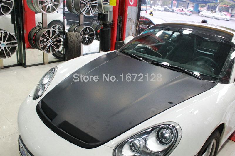 06-13 Carbon Fiber Bonnet Design For Cayman 987 TA Style Carbon Fiber Hood Bonnet(China (Mainland))