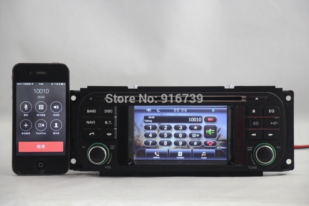 Car DVD Player GPS Navi For Jeep Grand Cherokee Dodge Chrysler Sebring Wrangler/4GB Free map card(China (Mainland))