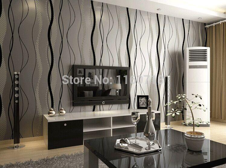 Slaapkamer Moderniseren  Modern 3D Wall Paper