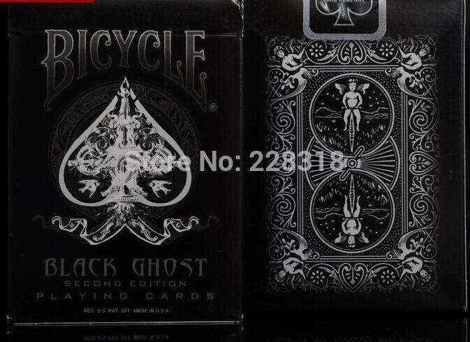 Bicycle Black Ghost Deck
