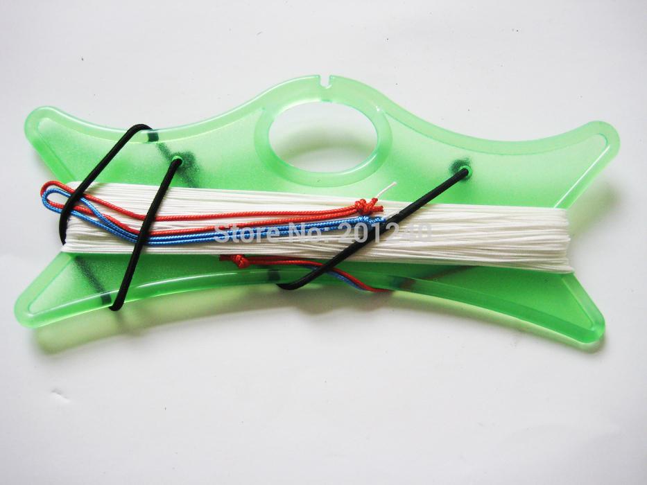 [LUNA KITE] 100% Dyneema fiber Kite Line 2*30M 100LB For stunt Kite dual line quad line kite(China (Mainland))