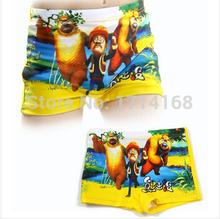 Free Shipping Kids Swim suits Cartoon boys swimming trunks short pants Drop shipping