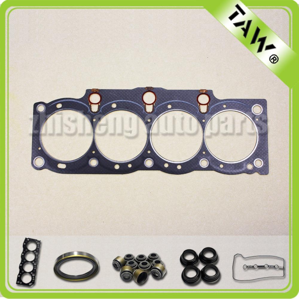 Junta as peças do motor full set completo junta da cabeça cylinde TOYOTA 2.2L 5SFE 04111-74303(China (Mainland))