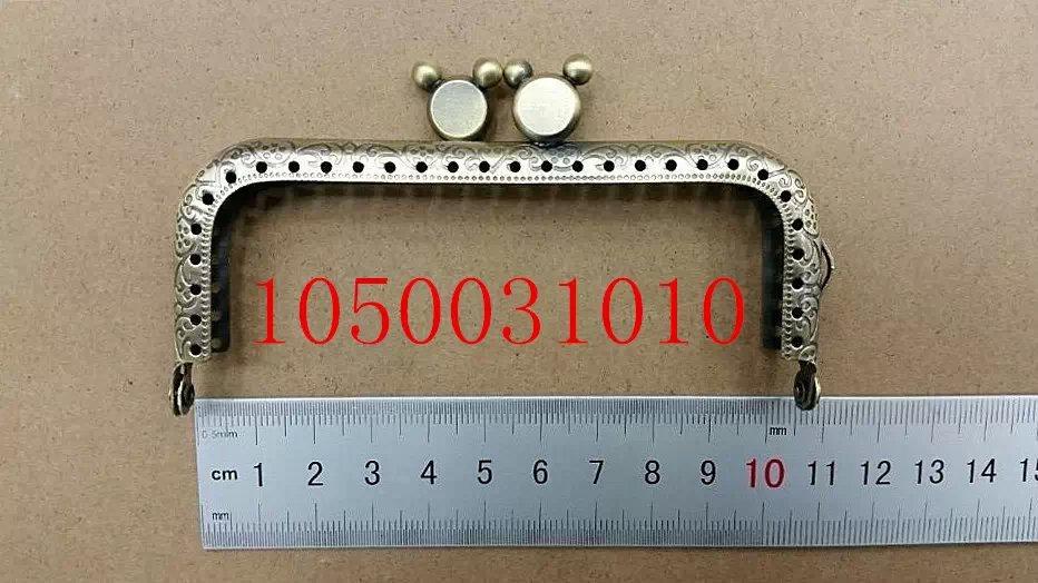 Bag Purse Metal Frame Kiss Clasp DIY Bag Clutch Accessories Sewing Bag Frame Handle Fedex Free Shipping 1500031020(China (Mainland))