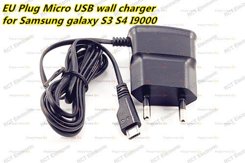 Universal EU plug Micro USB Wall Charger Power Adapter For Samsung Galaxy S3 S2 i9300 i9100 high quality free shipping(China (Mainland))