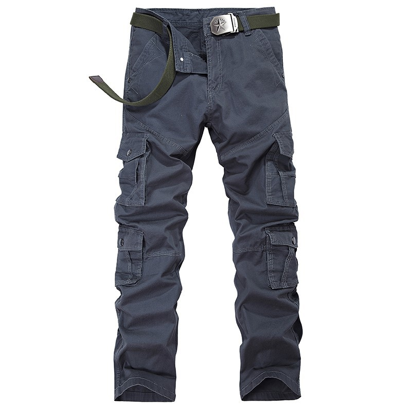 New Fashion Designer Quality Men Casual Pants Mens Loose Pants 100%Cotton Overalls Outdoor Pants Hombre Long Trousers Jeans-3108(China (Mainland))