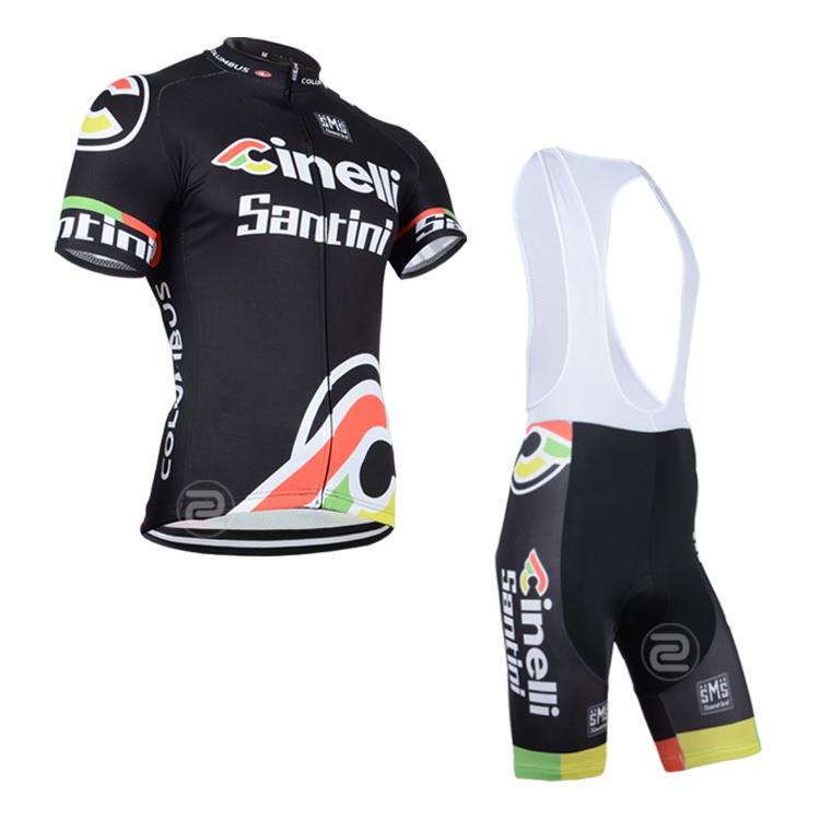 product 2014 Set Cycling Jersey + Bib Shorts Ciclismo Short Sleeve Bicycle Bike Wear Nte Free Shipping / Size XS--4XL