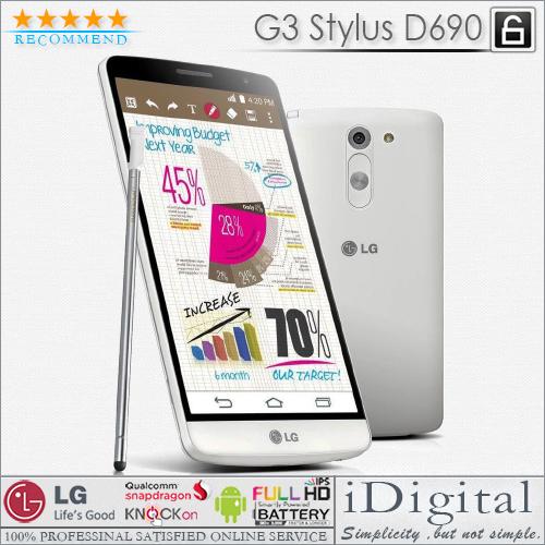 "Original LG G3 Stylus D690 Unlocked Dual SIM 5.5"" IPS Quad Core 1.3GHz 1G RAM 8G ROM 13MP GPS WIFI 3G Cellphones Refurbished(China (Mainland))"