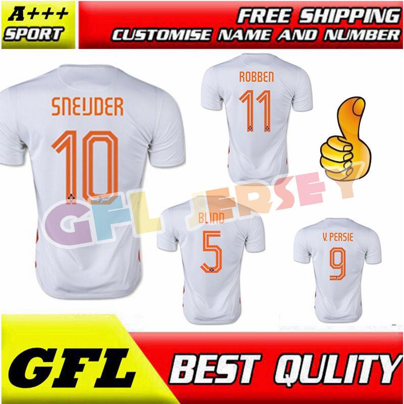 2015 2016 A+++ Netherlands jerseys football shirt(China (Mainland))
