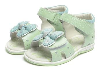 Фламинго дети обувь высокое качество натуральная кожа сандалии QS5737