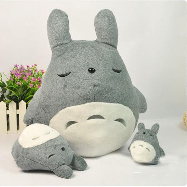 50CM Anime My Neighbor Totoro Plush Toys Doll Kawaii Brinquedo Giant Stuffed Animals Gray Totoro Peluches Toys Birthday Gift(China (Mainland))