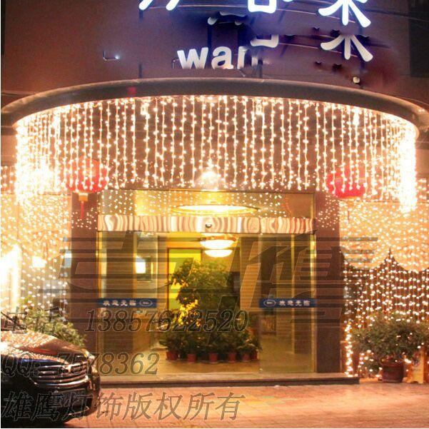 6m*1m 256LEDs lights flashing lane LED String lamps curtain icicle Christmas home garden festival lights 110v-220v(China (Mainland))