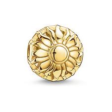 Free shipping Wholesale Fashion Women Jewelry Loose Ball Flower Beads fit for European pandora Bracelets Chain