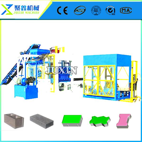QT12-15 brick forming machine / cement sand hollow block making machines(China (Mainland))