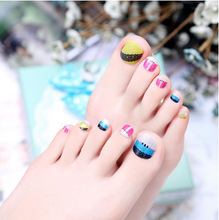 Toe 12# hot venda nova moda beleza manicure pedicure nail stickers nail art