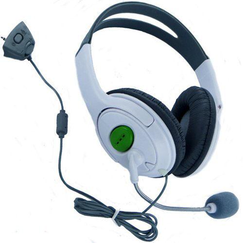 Newest High Stereo Live HQ Audio Headband Headset Headphone Microphone For Xbox 360 Elite Slim Wireless Controller Joystick(China (Mainland))