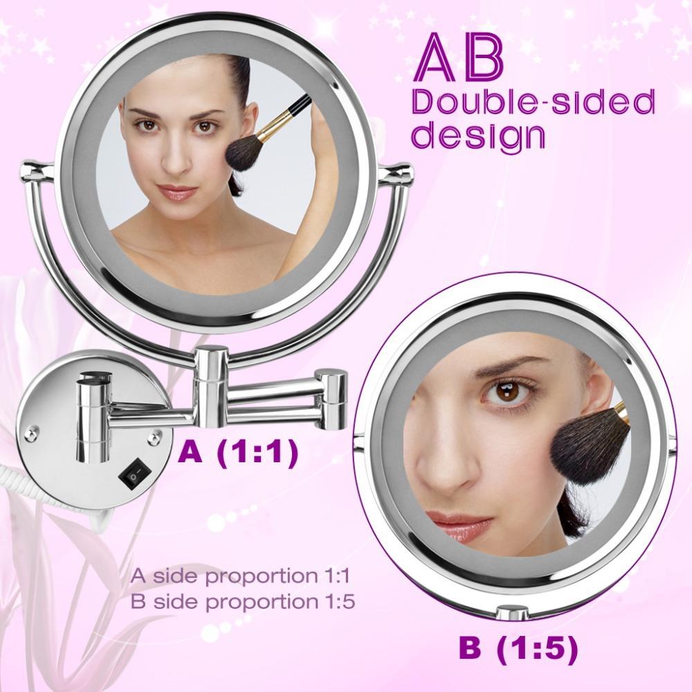 Achetez en gros miroir de maquillage s 39 allume en ligne for Miroir qui s allume