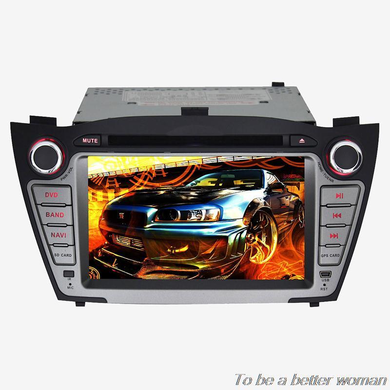 "NEW 7"" Android 4.4 1024*600 2 din car radio dvd for Hyundai IX35 2010-2013 Dual Core GPS DVD Radio WIFI 3G OBD DVR AUX TV USB(China (Mainland))"