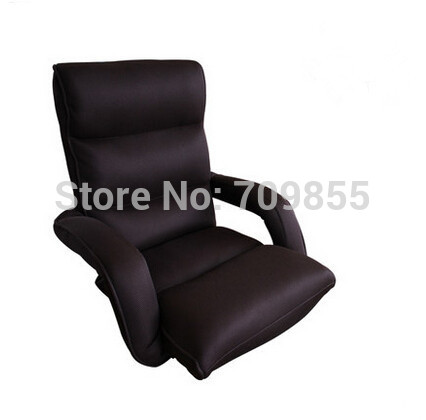 Relaxing Chair Modern Floor Arm chair Mesh Fabric Furniture Living Room Fashion Leisure Sofa Armrest Folding Relaxing Chairs(China (Mainland))