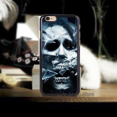 Vintage 1PC Games Wallpapers Skulls Glass Poster Cases for iphone4 i4s i5 i5s i5c and i6 i6 Plus(China (Mainland))