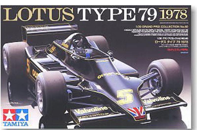 Tamiya 20060 Automotive Model 1/20 Car Lotus Type 79 1978 Scale Hobby Model Kit Free Shipping(China (Mainland))