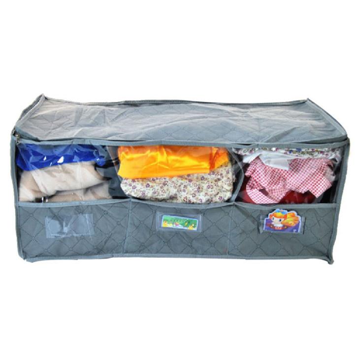 Delicate 2015 Hot Sale Storage Box Portable Non Woven Fibre Storage Box For Bra Underwear Apr1(China (Mainland))