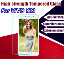 For ViVO Y22 Y22L Y22iL Y622 Best Quality 0.26MM 2.5D HD Premium Tempered Glass Screen Protector film Glass with Retail Package