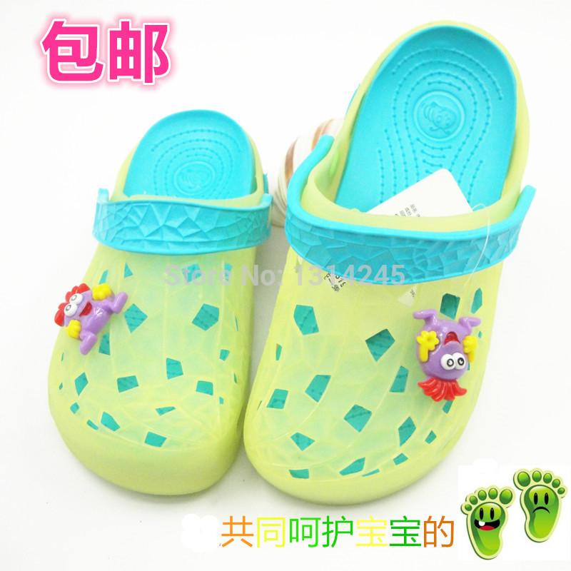 Masculino criança do sexo feminino garotão criança crianças chinelos sapatos buraco chinelos sandálias sapatos de geléia doces sapatos jardim(China (Mainland))