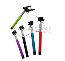 Для путешествия! 20 компл. кабель монопод стик Z07-5s плюс ручной проводной selfie для камеры iphone Android смартфон DHL