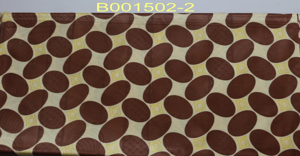 High quality textile bazin guinea bazin style fabric B0015(China (Mainland))