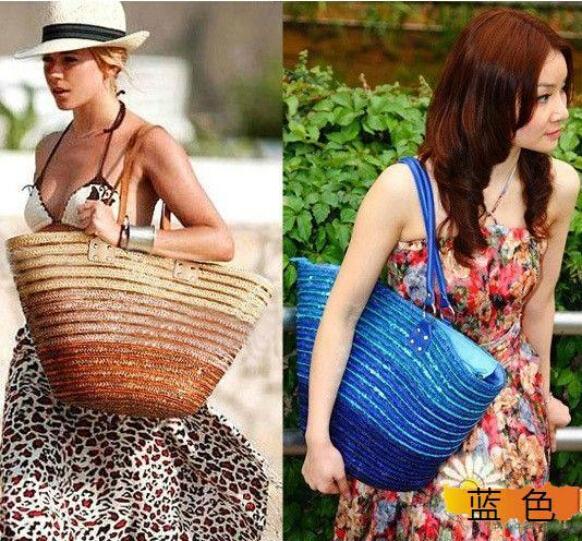 Strandtassen 2015 : Kopen wholesale stro strandtassen uit china