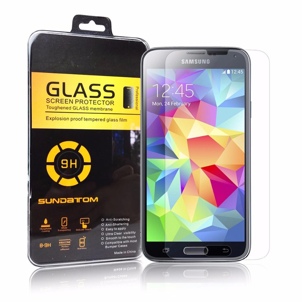Защитная пленка для мобильных телефонов Sundatom 100pcs/lot 0,2 2.5d 9H Samsung S5 I9600 держатель для мобильных телефонов samsung s5 i9600