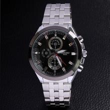 Watch luxury men genuine quartz jewelry Japan movement stainless steel alloy watch drop shipping