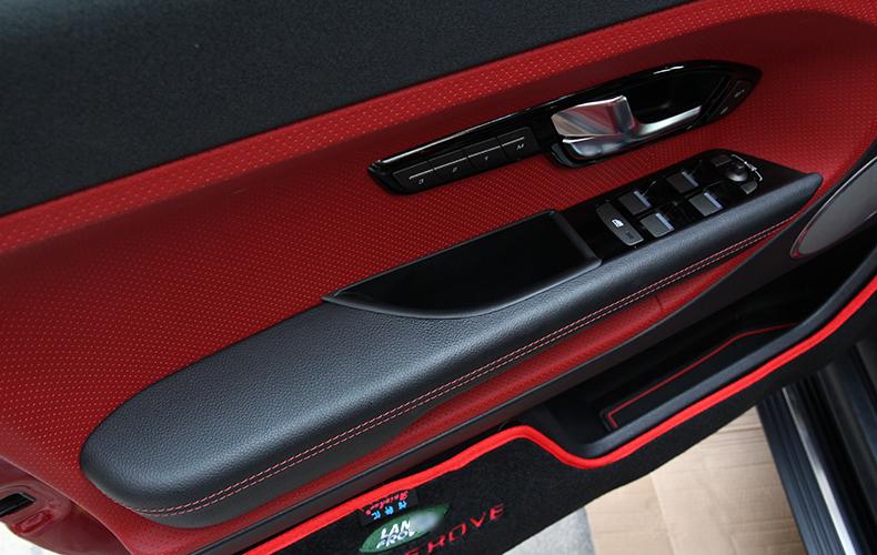 4pcs Front Rear Door Handle Storage Box Amrest Storage Box For Range Rover Evoque,Fashion Car Accessory(China (Mainland))