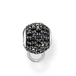 Free shipping Wholesale New Fashion Women Jewelry Loose Ball Gem Beads fit for European pandora Bracelets