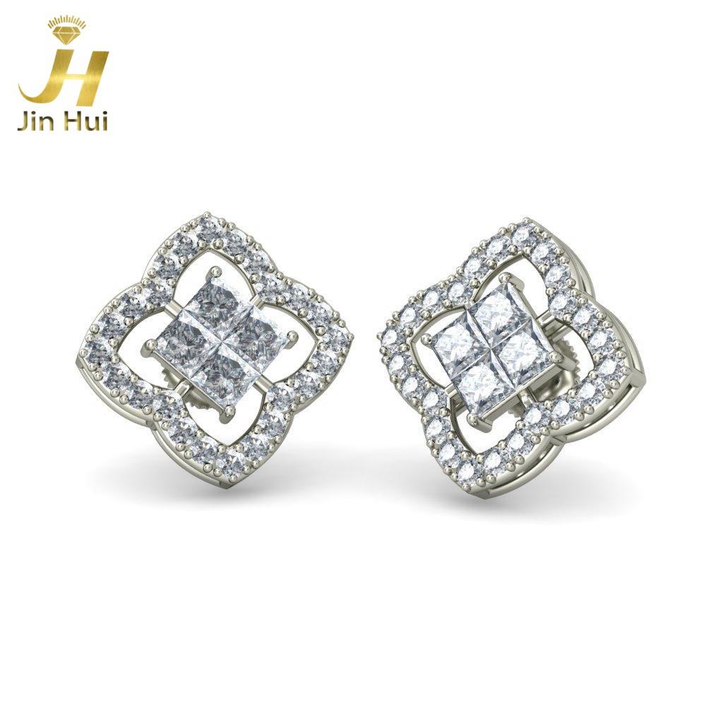 Jinhui 18K 750 1,088 CT JH-BS651 jinhui dhwani 18k 750 0 08 jh bs4576