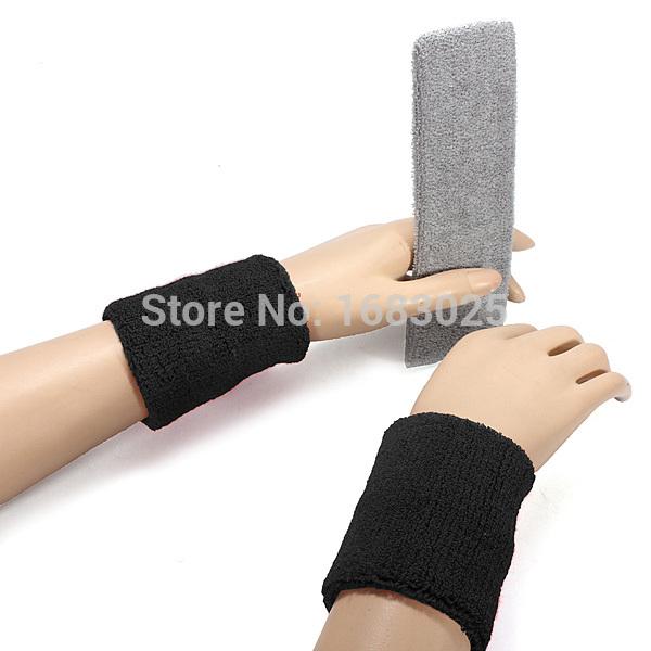 Unisex Sports Yoga Terry Cloth Cotton Sweatband Flexible Headband Head Hair Arm Band Accessory Badminton Tennis Basketball Wrist(China (Mainland))