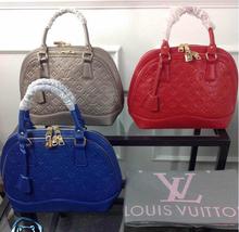 2015 famosa marca Louiingly Vuittonninglys sacos mulheres couro bolsas de ombro NEVERFULL bolsas da senhora louis saco(China (Mainland))