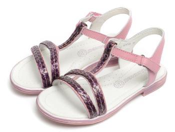 Фламинго дети обувь высокое качество натуральная кожа сандалии QS4742