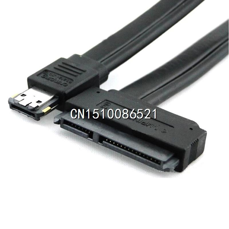 Dual Power eSATA USB 12V 5V Combo to 22Pin SATA USB Hard Disk Cable(China (Mainland))