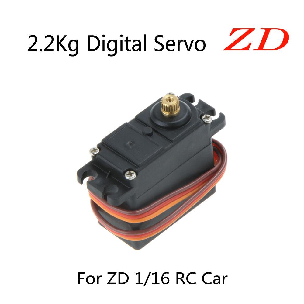 Original ZD 1/16 RC Car Part 2.2Kg Digital Metal Gear Servo 6230 RC Car Servo 1/16 RC Car Part(China (Mainland))