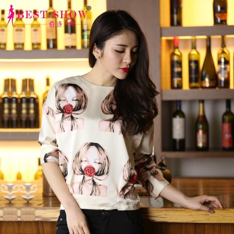 Женские блузки и Рубашки 2015 3/4 1499 блузки и рубашки