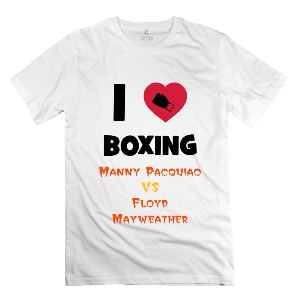 Cute Organic Cotton Boxing ! men t shirt 2015 Latest t shirts For men's(China (Mainland))