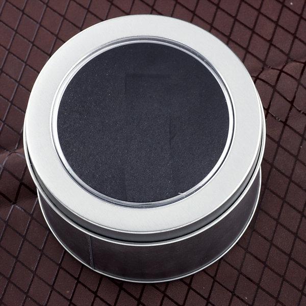 10 pcs Christmas Gift Box Watch And Jewelry Iron Round Packing Box Free Shipping(China (Mainland))