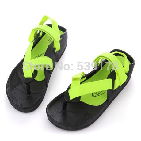 Unisex sandals rubber women sandal flat with men's shoes beach slippers sandals summer slip-resistant shoes men sandals 03(China (Mainland))
