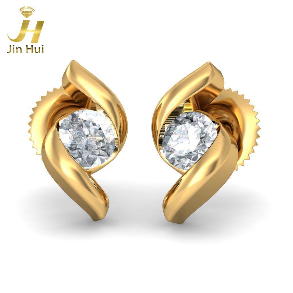 Jinhui Isidora 18K 750 0,22 CT JH-BS1374 jinhui dhwani 18k 750 0 08 jh bs4576