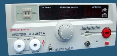 Several significant voltage meter Hong Kong AC / DC10KV AC and DC voltage tester SFJ2671A digital high instrument(China (Mainland))