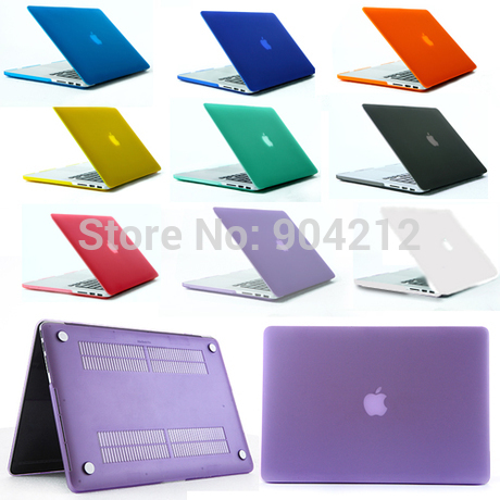 """For Apple Macbook Air 11"""",13"""",Pro 13"""" inch,15"""",Pro Retina 13"""" 15"""" inch Colorful Semi-transparent Matte Hard Plastic Case Cover(China (Mainland))"""