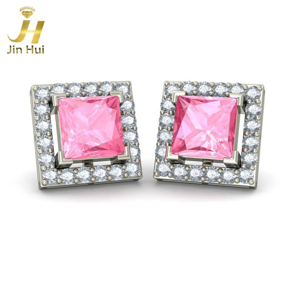 Jinhui Manzana 18K 750 0.8ct JH-BS3359 jinhui dhwani 18k 750 0 08 jh bs4576